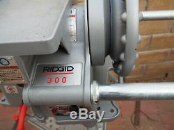 RIDGID 300 PIPE THREADER THREADING machine shipped without stand