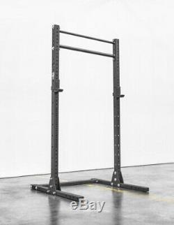 ROGUE SML-2 90 SQUAT STAND WITH J CUPS and PULL UP BAR(single), READY TO SHIP