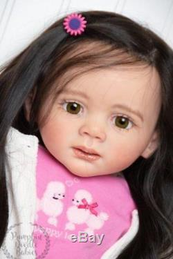 Ready to ship! Fritzi Karola Wegerich Reborn Doll Sm Todller Baby Girl Standing