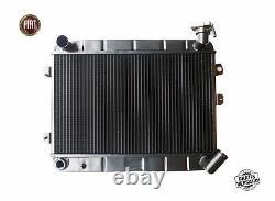 Refroidisseur de D'Eau Fiat 124 Spider As BS CS1 1400 1600 Radiateur 1966-78