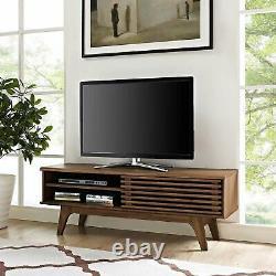 Renda r 44 TV Stand, FREE SHIPPING WALNUT FINISH MID CENTURY MODERN STYLE