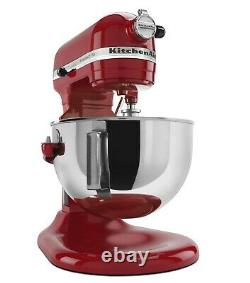 SHIPS FREE TODAY KitchenAid Pro 5 Plus KV25G0X 5-Quart Bowl-Lift Stand Mixer RED