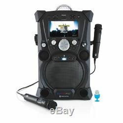 SINGING MACHINE Carnaval Portable Hi-Def Karaoke System SHIPS FREE