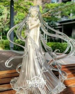 Sailor Moon Chiba Chibiusa Hino Rei Resin PU Figure Display Stand Limit Pre N F3