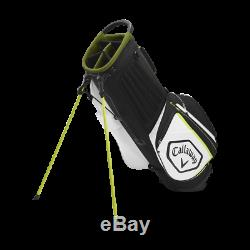 Save Brand New Callaway Chev Stand Bag Black White Volt Free Shipping