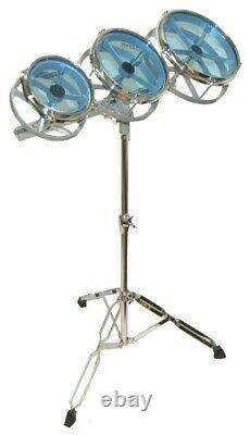 Set of 3 Rototoms 6'' 8'' and 10'' with the Stand (Free Shipped in USA)