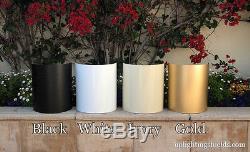 Shield Cover Sconce for Uplight Uplighting, WHITE, Aluminum, 20 UNITS, FREE SHIP