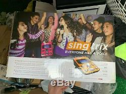 Singtrix Party Bundle Home Karaoke System SGTX1 NEW IN BOX FREE SHIPPING