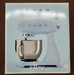 Smeg SMF03WHUS NEW UNOPENED BOX 50's Retro Stand Mixer, White FREE SHIPPING