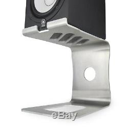 Soundrise PRO Desktop Speaker Stands (Raw Unpainted/pair) Free USA Shipping