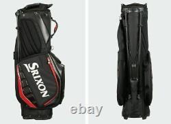 Srixon 2021 Tour Golf Stand Bag GGC-20010i Mens 9.5 4Way 6.5lbs UPS Ship# Black