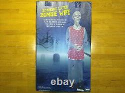 Standing Latex Zombie Wife Prop Spirit Halloween (FREE SHIP)