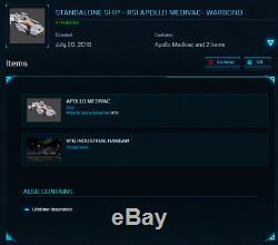Star Citizen Standalone Ship RSI Apollo Medivac Warbond LTI (original)