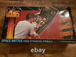 Star Wars Space Battle Free Standing Pinball New in Box -2013 Model Ships Fast