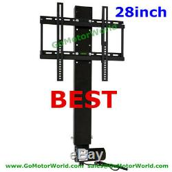 TV Motorized Vertical Stand Lift 39 to 67 Height Adjustable free shipping