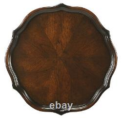 Tables Berwyck Pedestal Table Plant Stand Cherry Finish Free Shipping