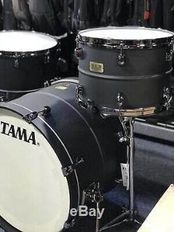 Tama Limited SLP Big Black Steel Drum Kit 3PC with SNARE DRUM+Tom Stand, Free Ship