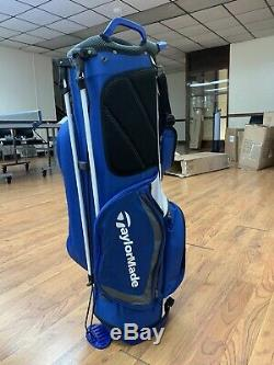 TaylorMade Golf Select Stand Bag Blue/White 2019 Free Shipping Only Five Lbs