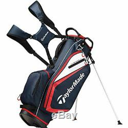 TaylorMade Golf Select Stand Bag (Navy/Red/White) 2019 Free Shipping Five Lbs