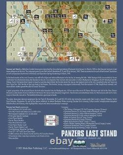 The Gamers Panzers Last Stand Battles for Budapest, 1945 MMP NISW Fast Shipping
