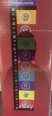 US Kids Golf UL60 5 Club Stand Bag Set NEW Maroon Age 10-12 SHIP DISCOUNT