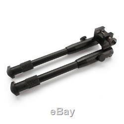 US Ship Tactical Rifle SWAT Gun AR Bipod Adjustable Mount Stand Height 223 Rail