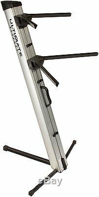 Ultimate Support APEX AX-48 PRO Silver Column Keyboard Stand AX48 Free Shipping
