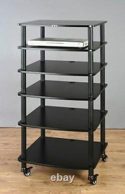 VTI AR406 AudioPhile 6 shelves Rack, Brand New, Free Ship