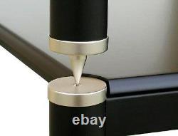 VTI BL404SS-13 Hi-End silver frame / poles Audio Rack, Brand New, Free Shipping