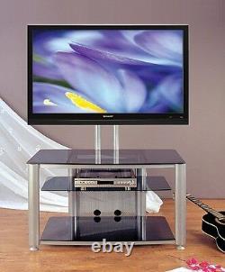 VTI HFR403 Glass Audio Video Rack (with flat panel mounts), Brand New, Free Ship