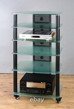 VTI NGR406 Glass AudioPhile Rack, Brand New, Free Ship