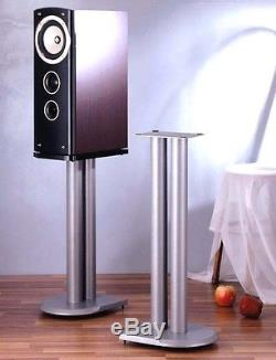 VTI UF Series Pair Speaker Stands 29, Silver, Brand New, Free Ship