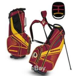 Washington Redskins Gridiron Stand III Golf Bag New Free Shipping