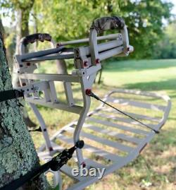 X-stand The Jester Aluminum Hang On Deer Hunting Tree Stand With Backrest
